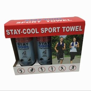Stay-Cool Sport Towel Set 🆕